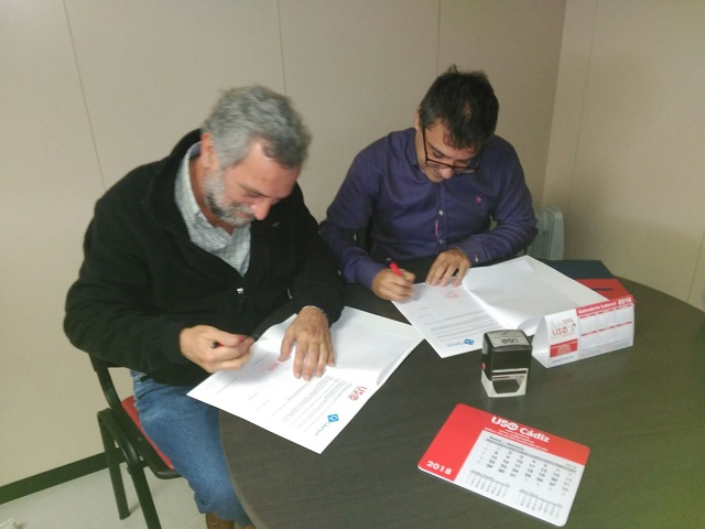 Firma acuerdo USO/QURSOS